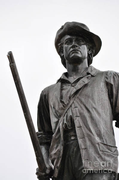 Photograph - Minute Man Statue Concord Massachusetts by Staci Bigelow