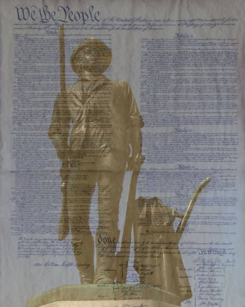 Photograph - Minuteman Constitution by John Feiser