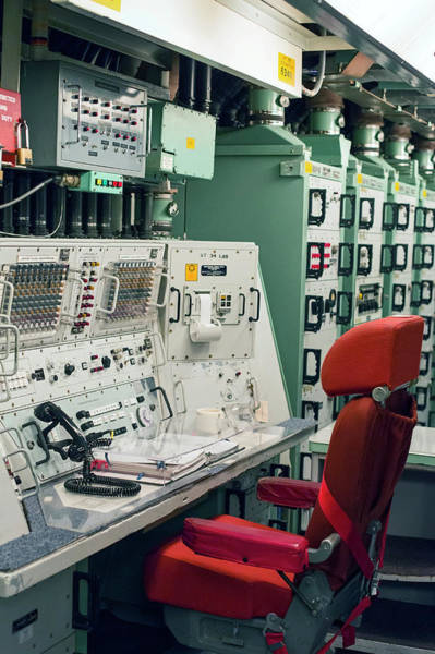 Minutemen Wall Art - Photograph - Minuteman Missile Control Room by Jim West