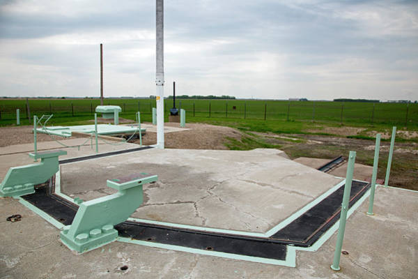 Ronald Reagan Photograph - Minuteman Missile Silo by Jim West