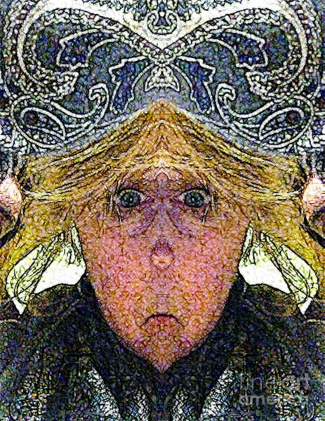 Digital Art - Mirabella H Lugubrious by Rhonda Strickland