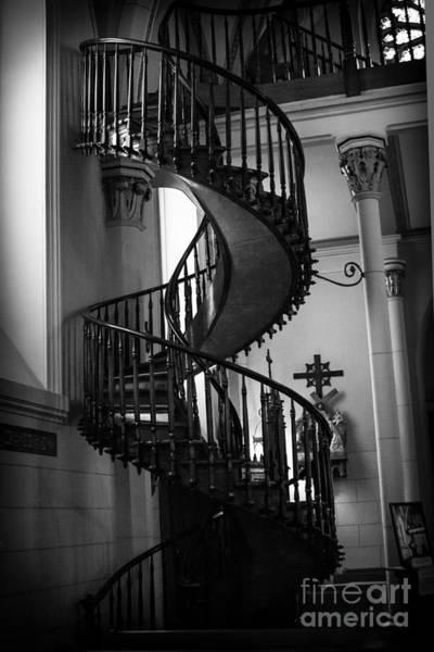 Loretto Chapel Photograph - Miraculous Staircase 2  by Jim McCain