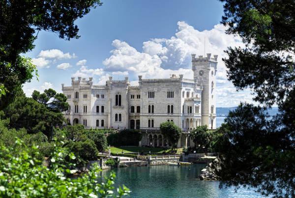 Photograph - Miramare Castle by Ivan Slosar