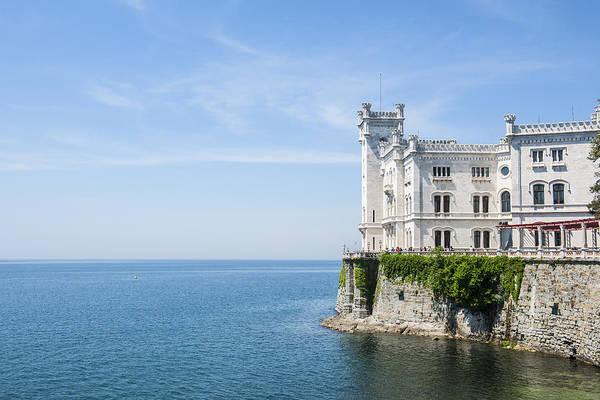 Friuli Photograph - Miramare Castle by Maremagnum