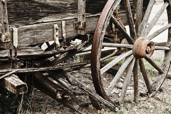 Tombstone Arizona Photograph - Mired In Time by Paul Anderson