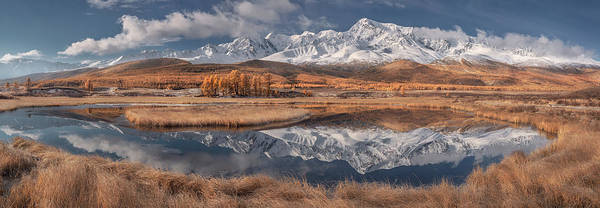 Mountain Range Photograph - Mirror For Mountains 3 by Valeriy Shcherbina