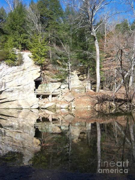 Photograph - Sugar Creek Mirror by Pamela Clements