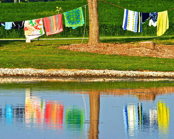 Campsite Wall Art - Photograph - Mirror Image by Frozen in Time Fine Art Photography