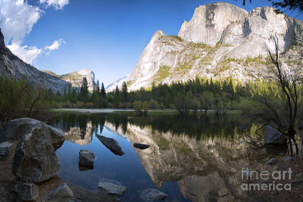 Dome Peak Photograph - Mirror Lake Yosemite by Jane Rix