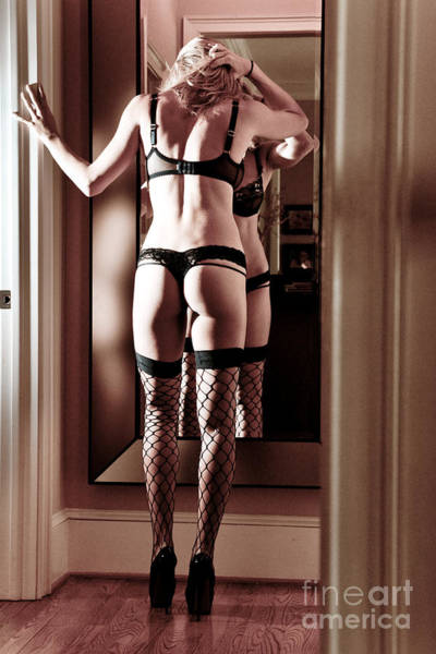 Bra Photograph - Mirror Mirror On The Wall by Jt PhotoDesign