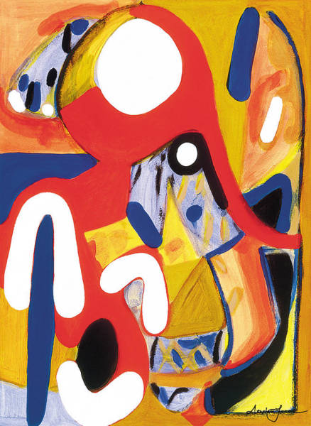 Mirror Of Me 2 Art Print