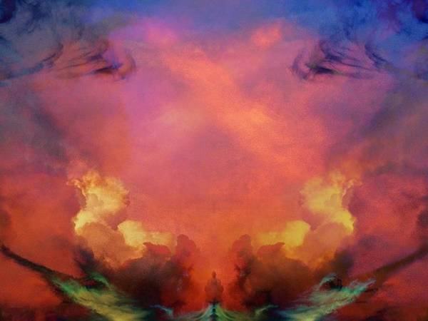 Mirrored Sky Art Print
