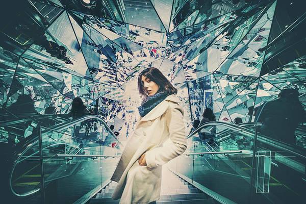 Attitude Wall Art - Photograph - Mirrors by Daisuke Kiyota