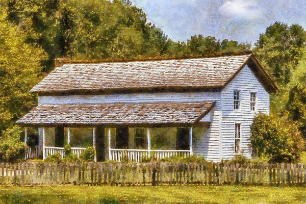 Painting - Miss Becky's House by Barry Jones