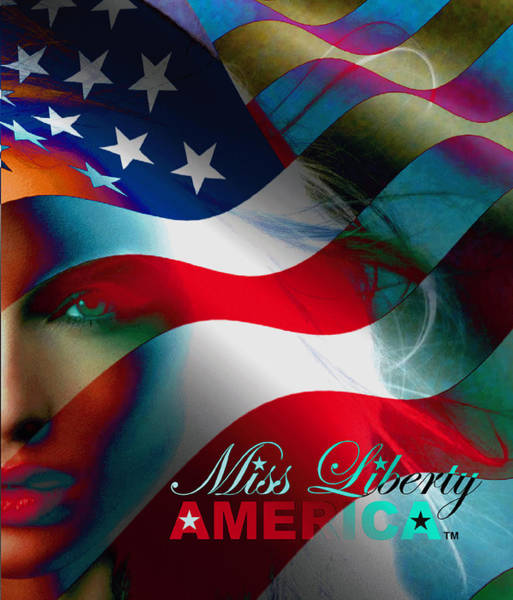 Wall Art - Photograph - Miss Liberty America II by Alicia Hayes