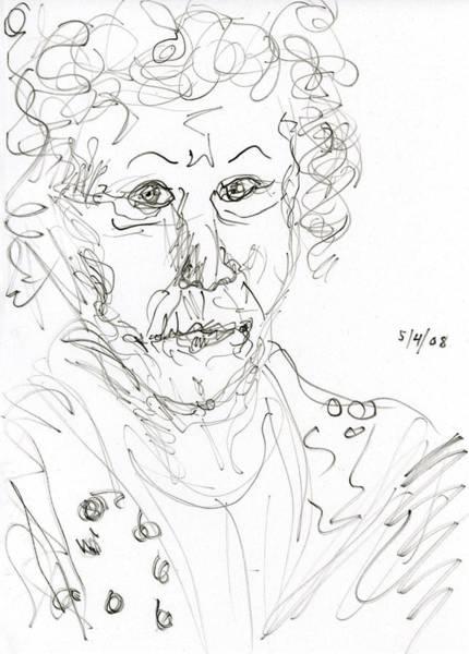 Drawing - Miss Marple Sketch II by Rachel Scott