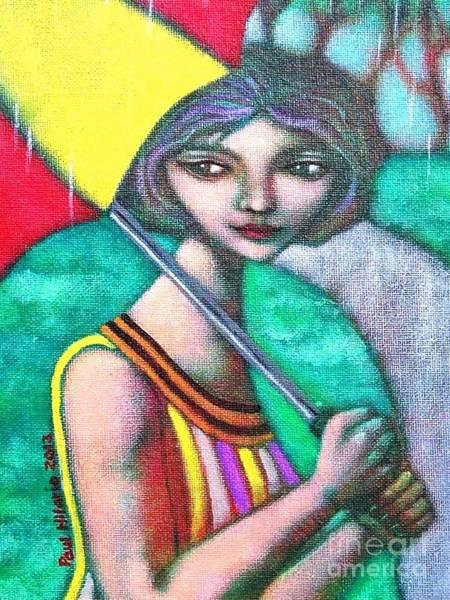Wall Art - Painting - Miss Pasukob by Paul Hilario