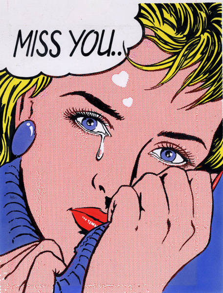 Miss You Photograph - Miss You by MGL Meiklejohn Graphics Licensing