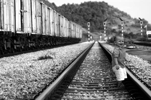 Wall Art - Photograph - Missed The Train by Jessica Rose