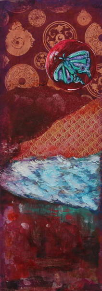 Wall Art - Mixed Media - Missing Home- A Soul's Journey by Shakti Chionis