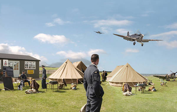 Battle Of Britain Digital Art - Missing by Pat Speirs