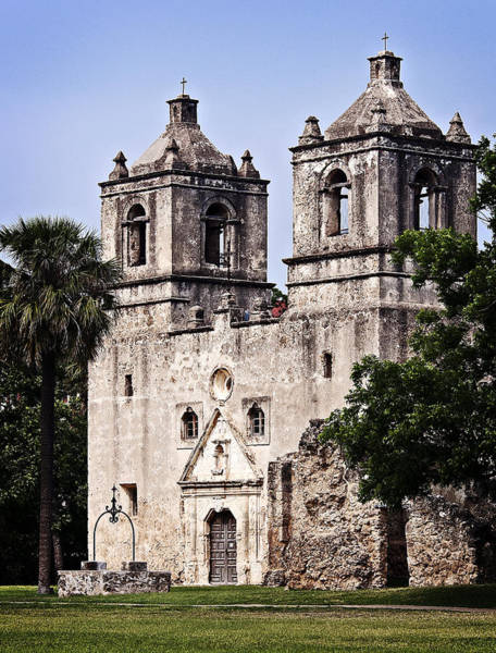 Photograph - Mission Concepcion by Andy Crawford