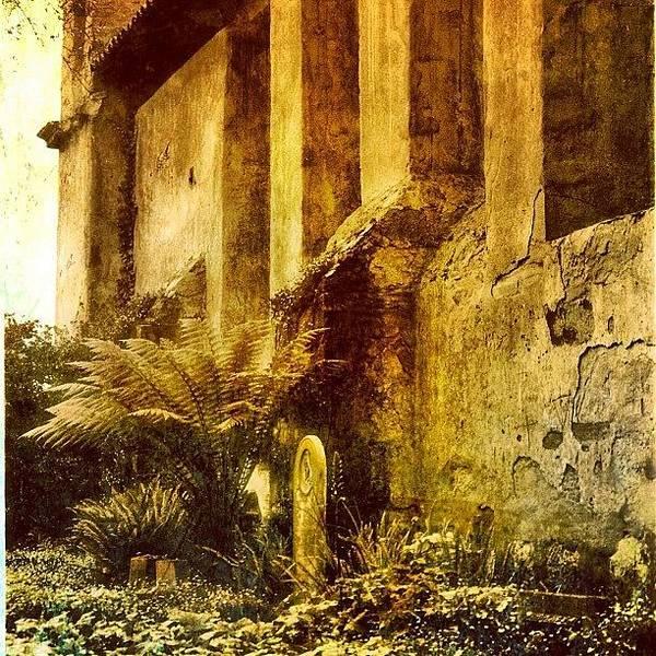 Ancient Photograph - Mission Grave by Jill Battaglia