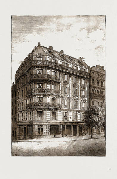 Wall Art - Drawing - Mission Home For The Protection Of Young Englishwomen by Litz Collection