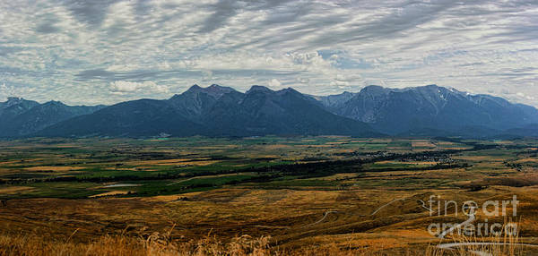 Wall Art - Photograph - Mission Mountain Range by Scarlett Images Photography