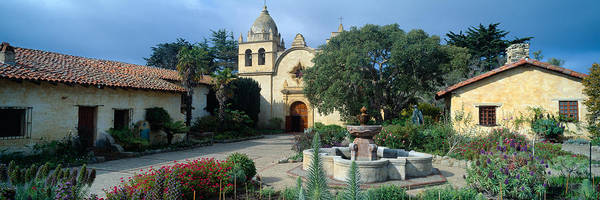Carmel Mission Photograph - Mission San Carlos Borromeo De Carmelo by Panoramic Images