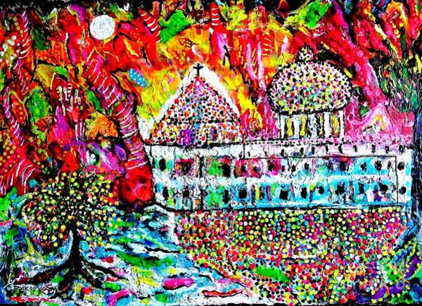 Sax Painting - Mission San Juan Capistrano by Darlyne Sax
