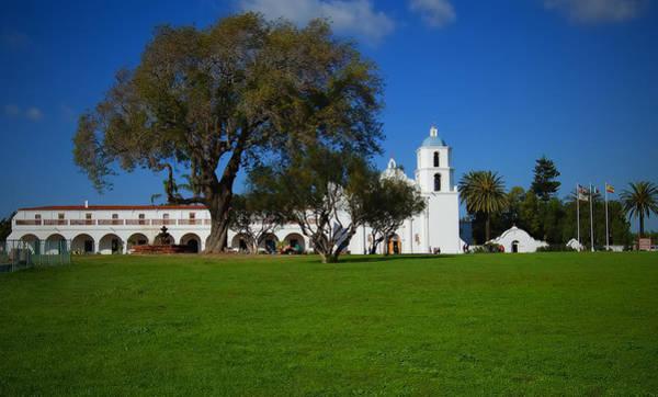 San Luis Rey De Francia Photograph - Mission San Luis Rey by See My  Photos