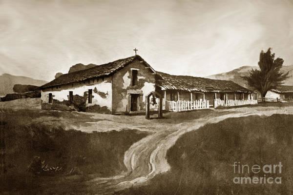 Photograph - Mission San Rafael California  Circa 1880 by California Views Archives Mr Pat Hathaway Archives