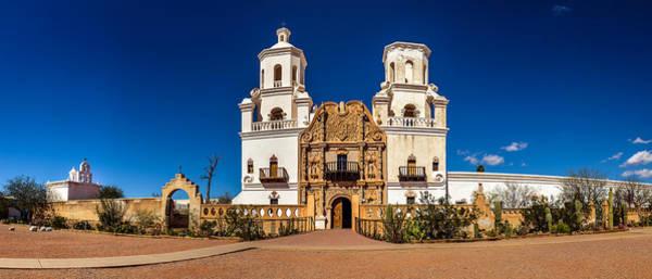 Photograph - Mission San Xavier Del Bac by Chris Bordeleau
