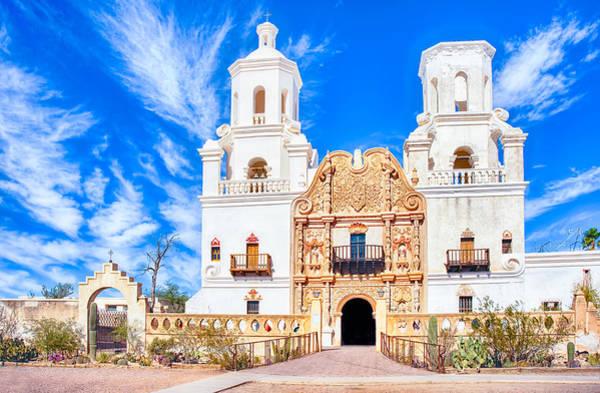 Photograph - Mission San Xavier Del Bac by Dan McManus