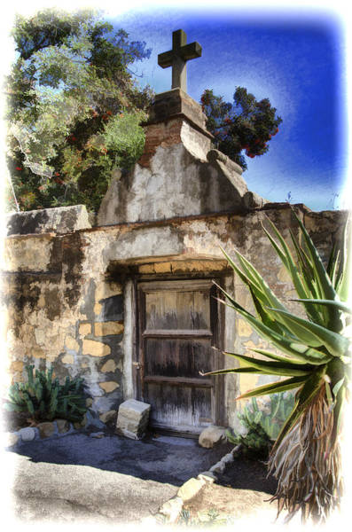 Mission Santa Barbara Photograph - Mission Santa Barbara - Cemetary by Jon Berghoff