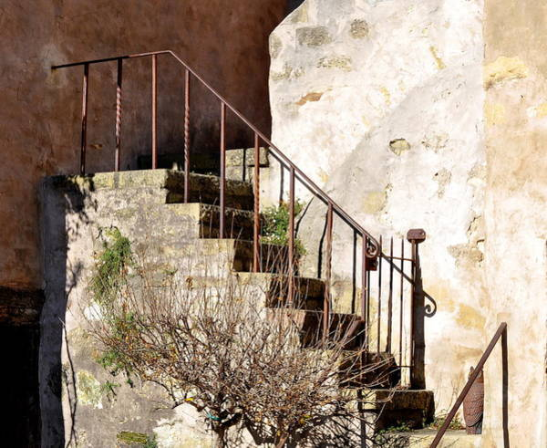 Photograph - Mission Stairs by AJ  Schibig