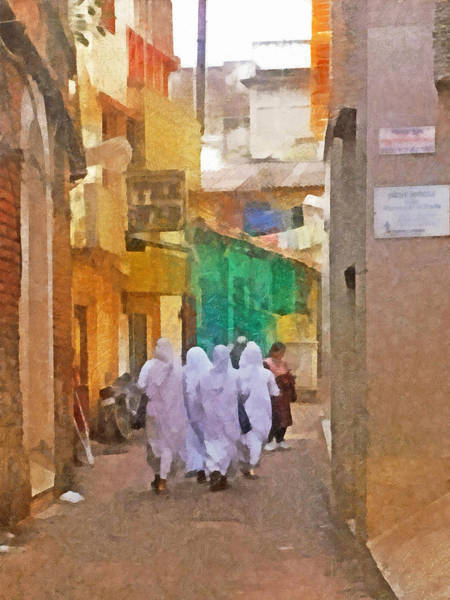 Digital Art - Missionaries Of Charity by Digital Photographic Arts
