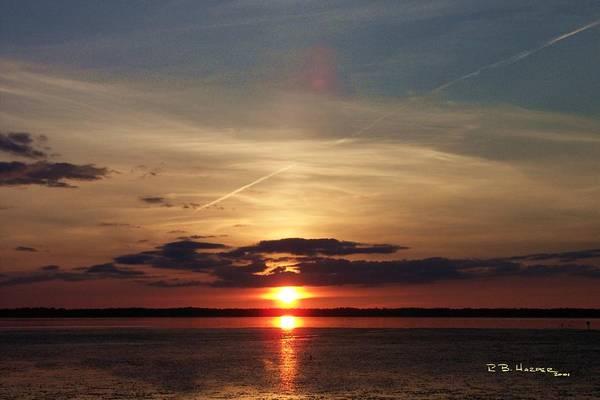 Photograph - Missisquoi Sunset by R B Harper