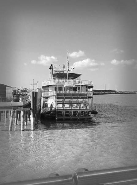 Photograph - Mississippi River Boat In Nola by Judy Hall-Folde