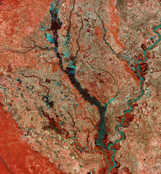 Wall Art - Photograph - Mississippi River by Mda Information Systems/science Photo Library