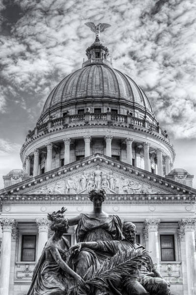 Photograph - Mississippi State Capitol II by Clarence Holmes