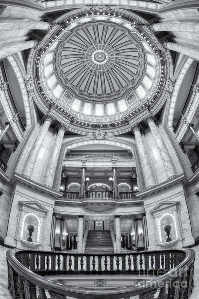 Photograph - Mississippi State Capitol Rotunda II by Clarence Holmes