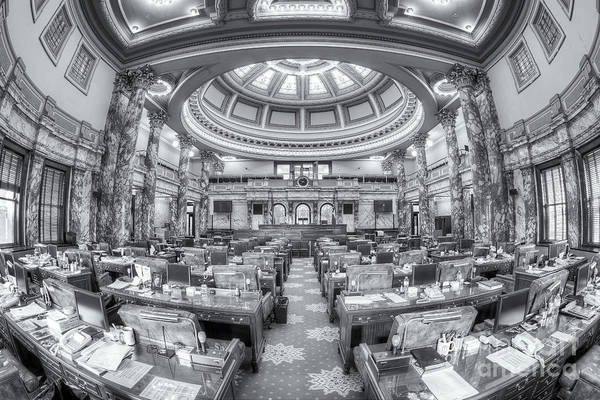 Photograph - Mississippi State Capitol Senate Chamber II by Clarence Holmes