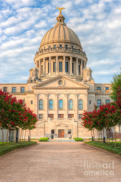 Photograph - Mississippi State Capitol V by Clarence Holmes