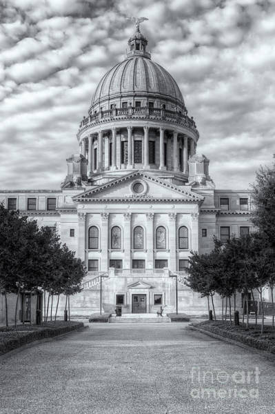 Photograph - Mississippi State Capitol Vi by Clarence Holmes