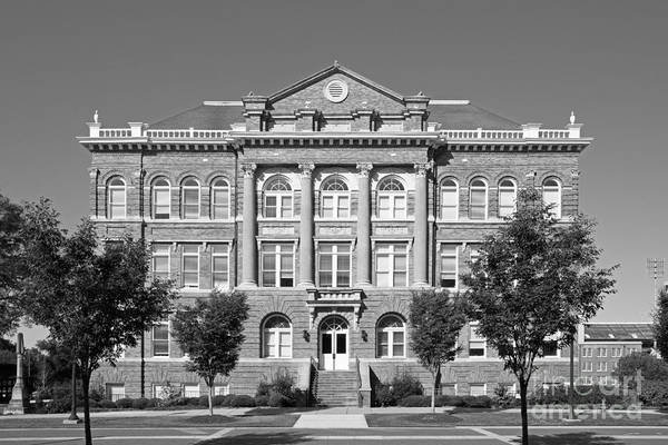Photograph - Mississippi State University Montgomery Hall by University Icons