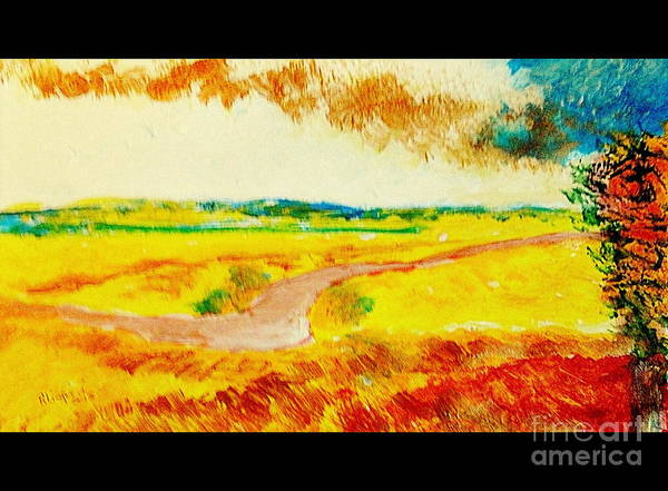Louisiana Purchase Painting - Missouri Hot Summer 103 by Ricardo Richard W Linford