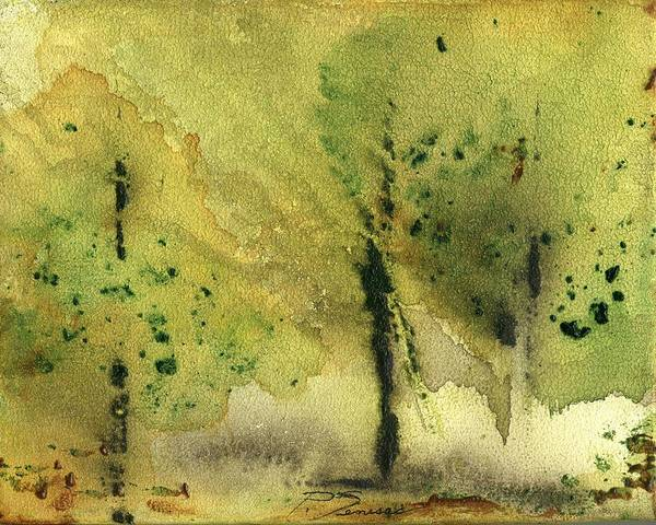 Painting - Mist And Morning by Peter Senesac