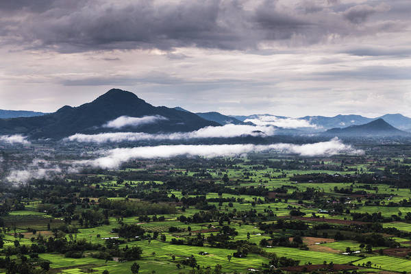 Thailand Photograph - Mist And Mountain by Natapong Supalertsophon